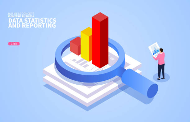 Review and analyze business data reports Review and analyze business data reports z_wei stock illustrations