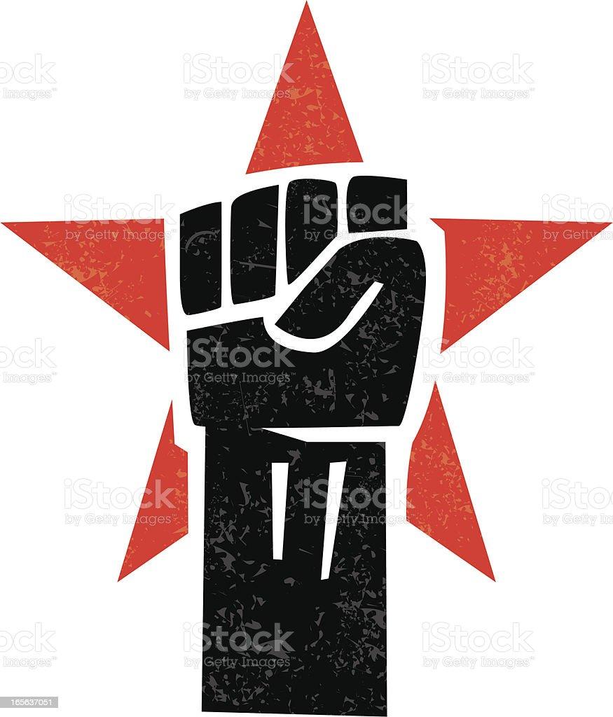 revolt royalty-free stock vector art