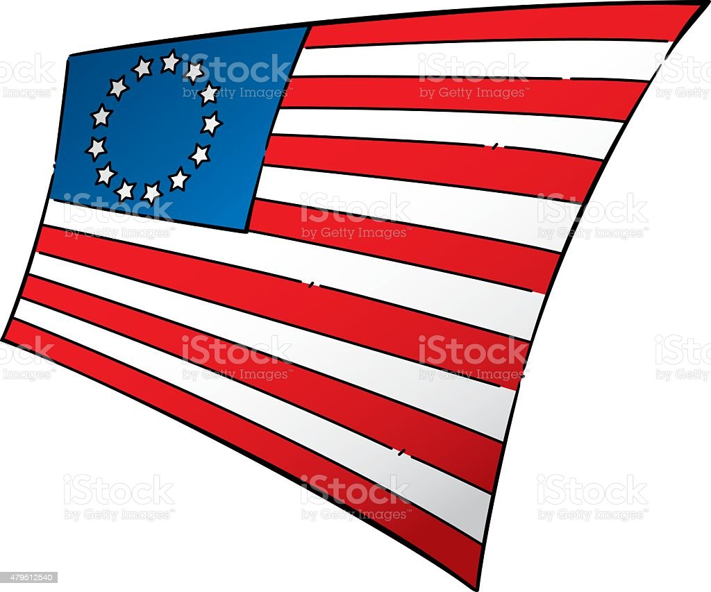 revolution era american flag stock vector art more images of 2015 rh istockphoto com From American Revolution Clip Art Circle Star Border Clip Art