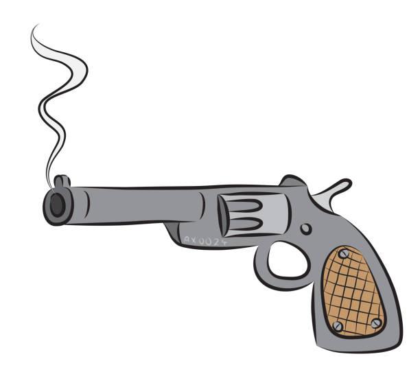 Best Gun Smoke Illustrations, Royalty-Free Vector Graphics ...