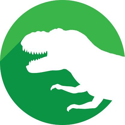 T Rex Head Icon Silhouette
