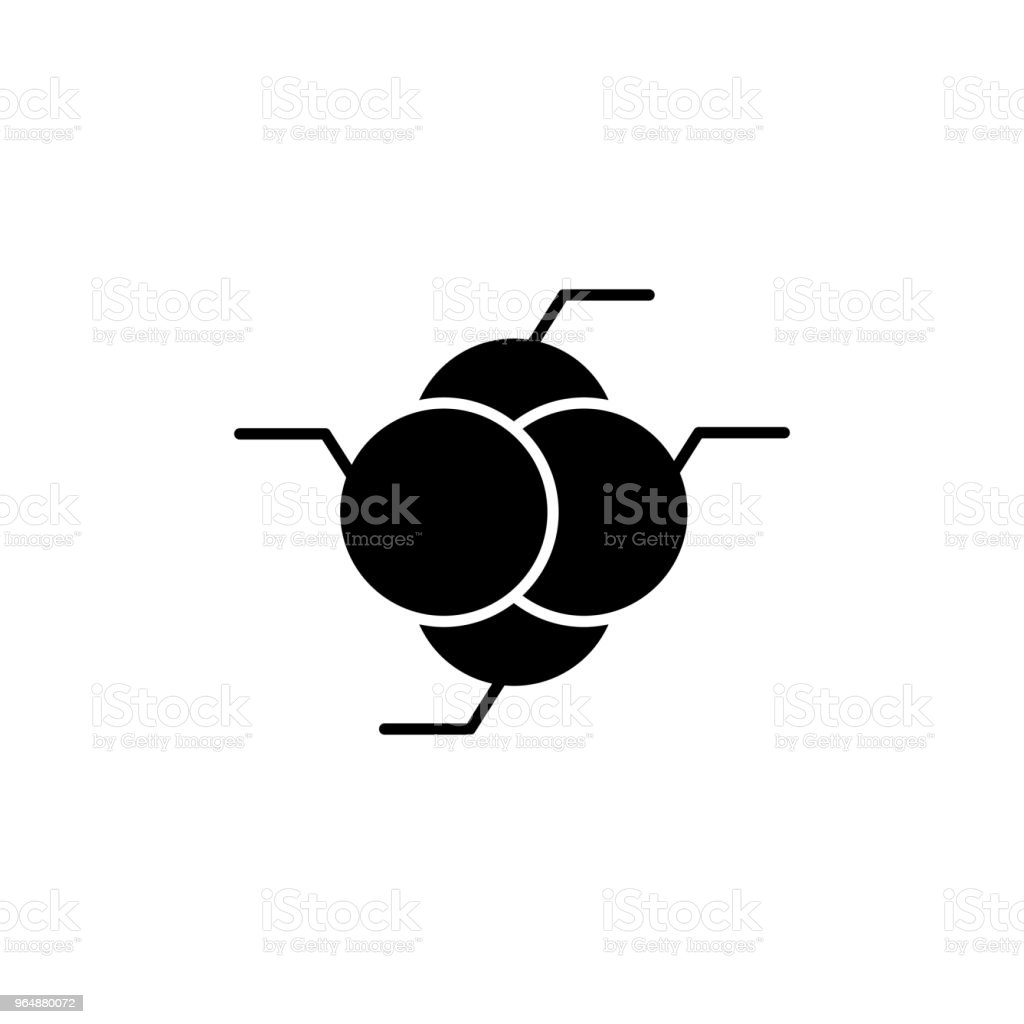 Rgb colors black icon concept. Rgb colors flat  vector symbol, sign, illustration. royalty-free rgb colors black icon concept rgb colors flat vector symbol sign illustration stock vector art & more images of abstract