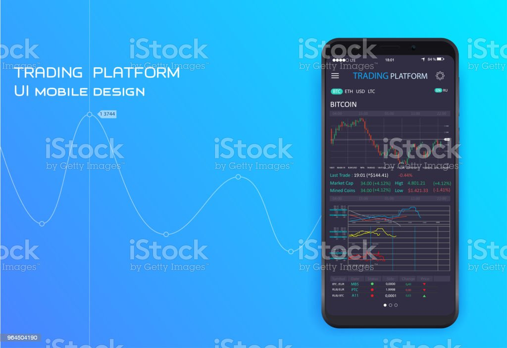 UI UX Design App Cryptocurrency Wallet Royalty Free Rgbmobile