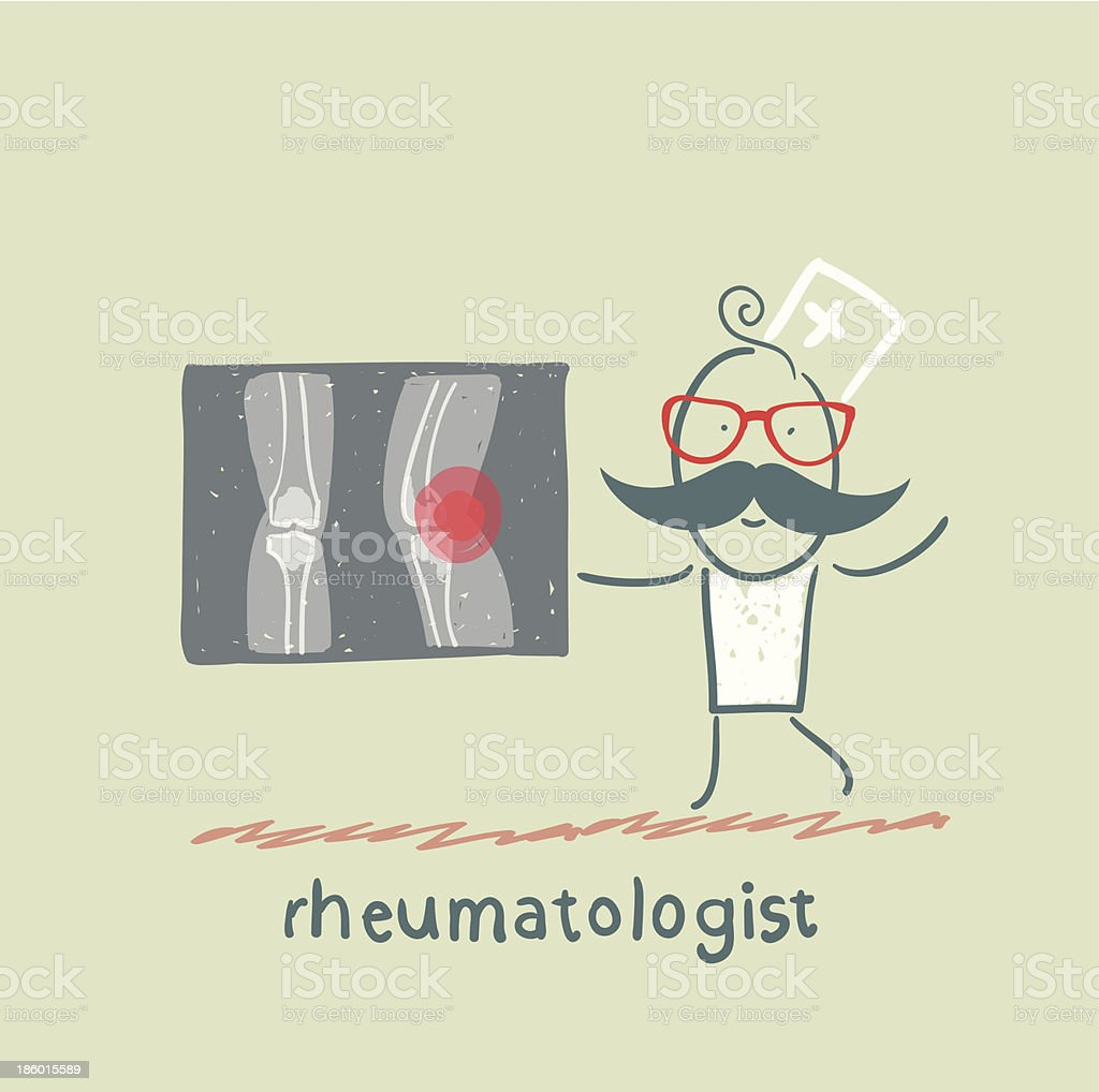 rheumatologist says about the pain royalty-free rheumatologist says about the pain stock vector art & more images of adult