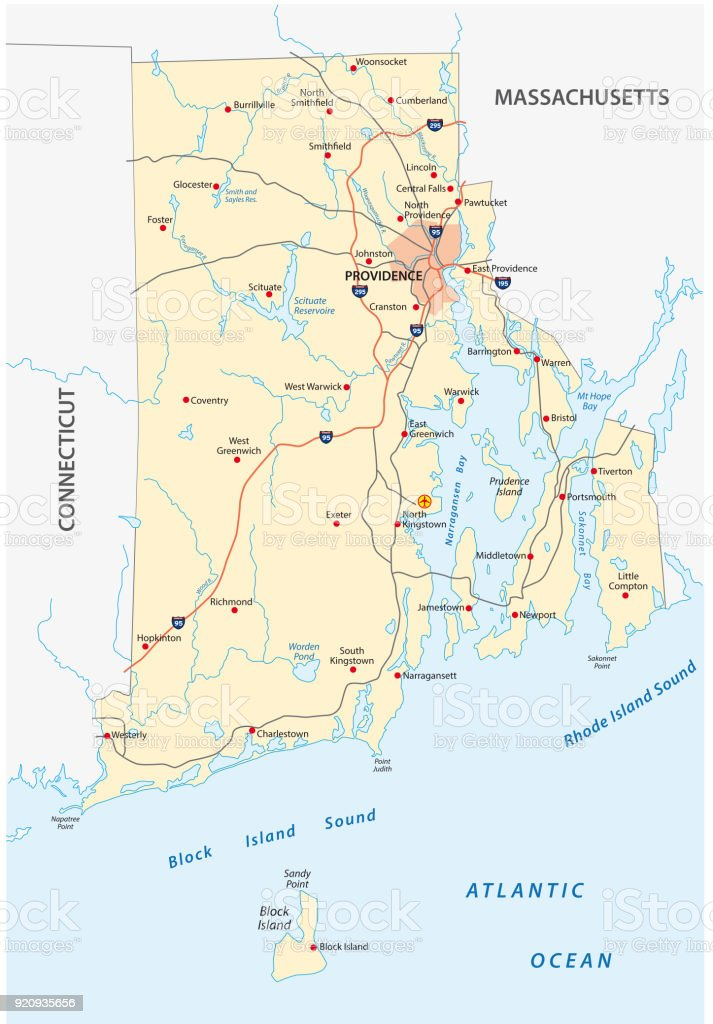 ロードアイランド州道路地図 - ...