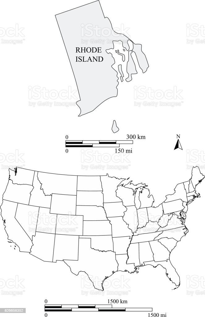 FileMap Of USA RIsvg Wikimedia Commons Map Of Usa Ri Mapsofnet - Rhode island on the us map