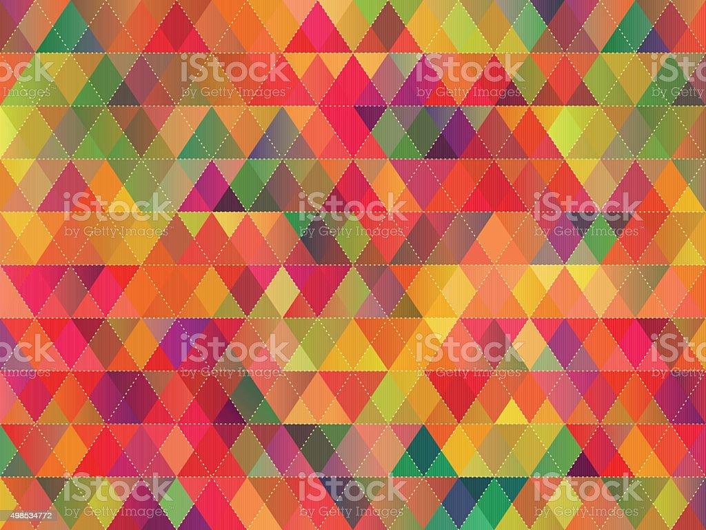 rhombus seamless pattern vector art illustration