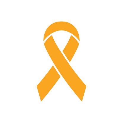 Ribbon icon. World Press Day symbol. Vector illustration