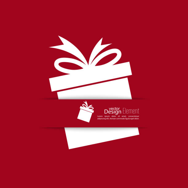 Royalty free gift box clip art vector images illustrations istock ribbon in the form of gift with shadow vector art illustration negle Image collections