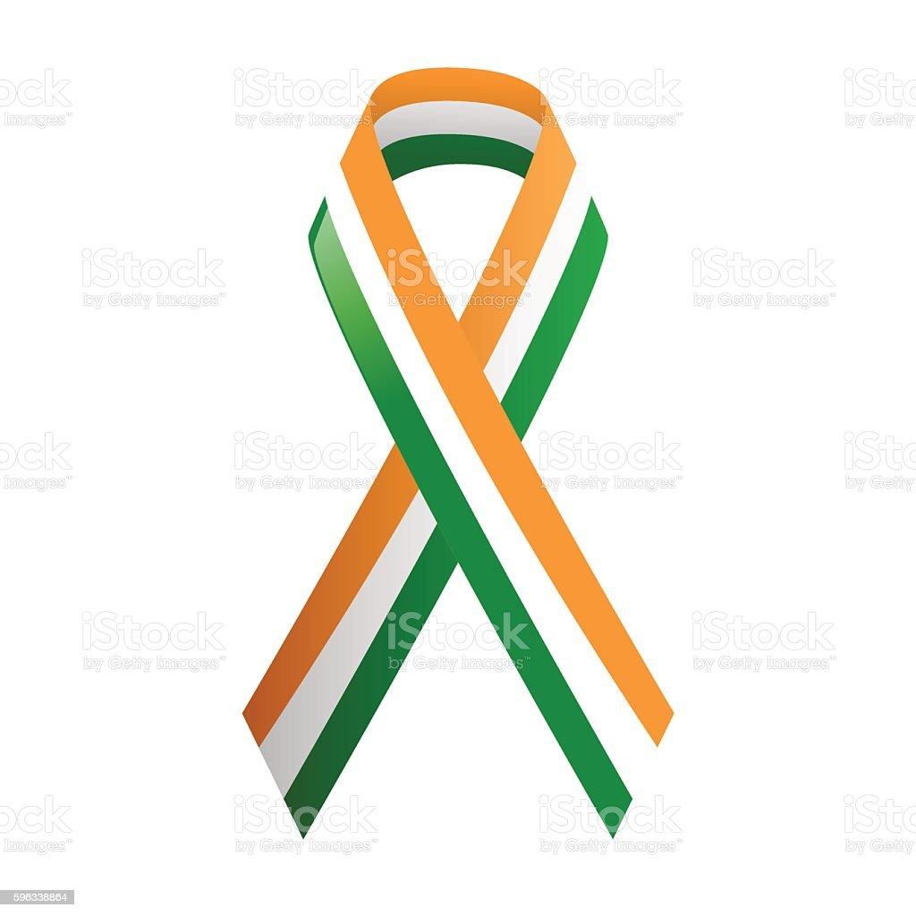 Ribbon India national colors royalty-free ribbon india national colors stock vector art & more images of abstract