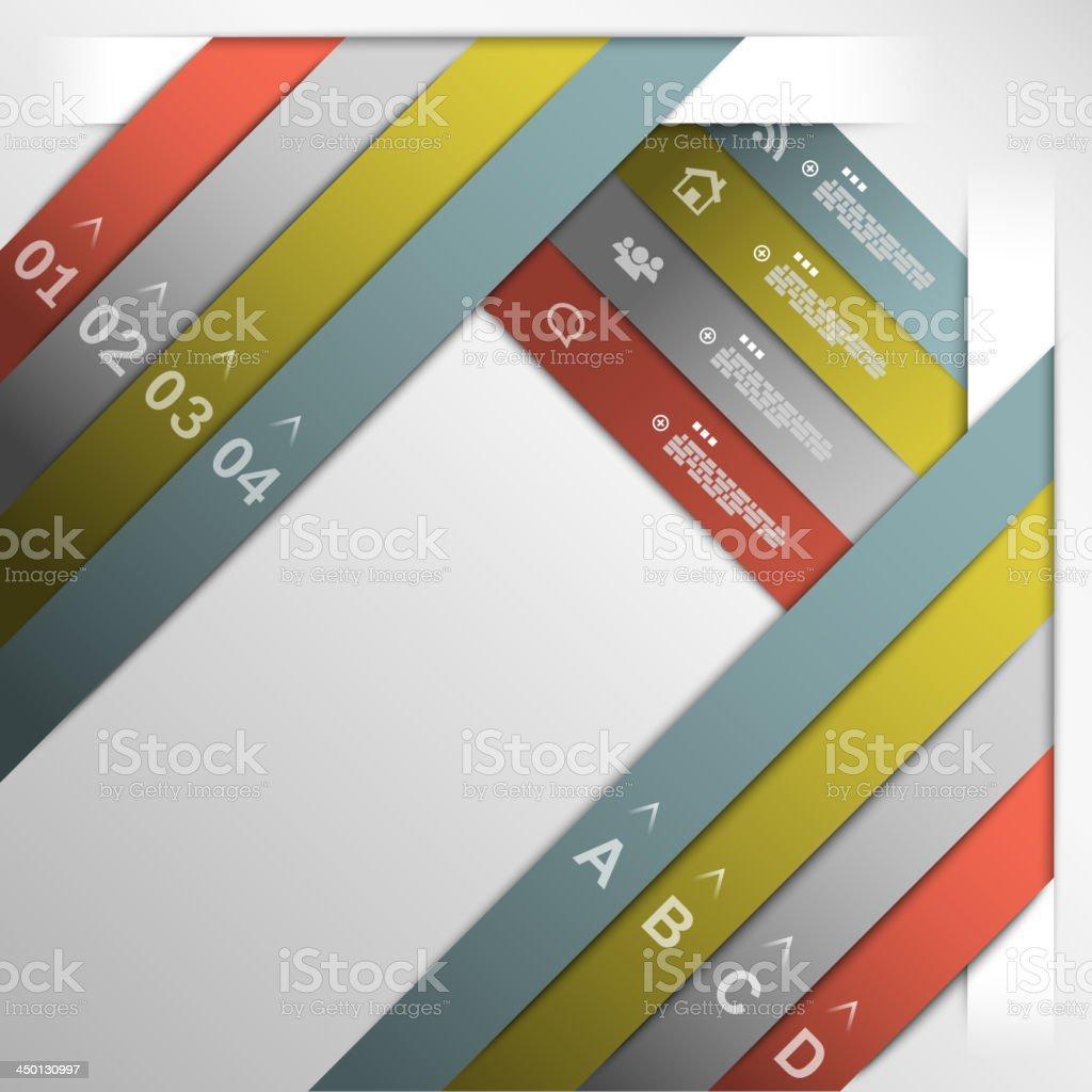 Band option Vorlage Lizenzfreies band option vorlage stock vektor art und mehr bilder von computergrafiken
