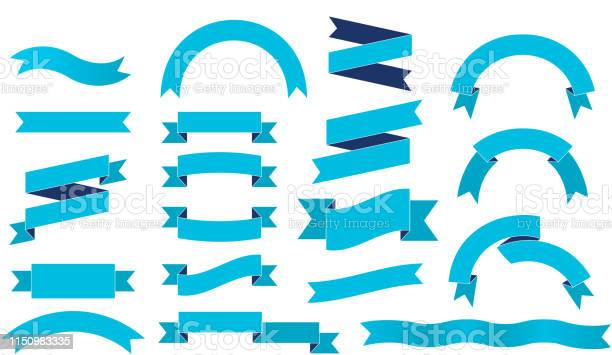 Ribbon Set Stock Illustration - Download Image Now