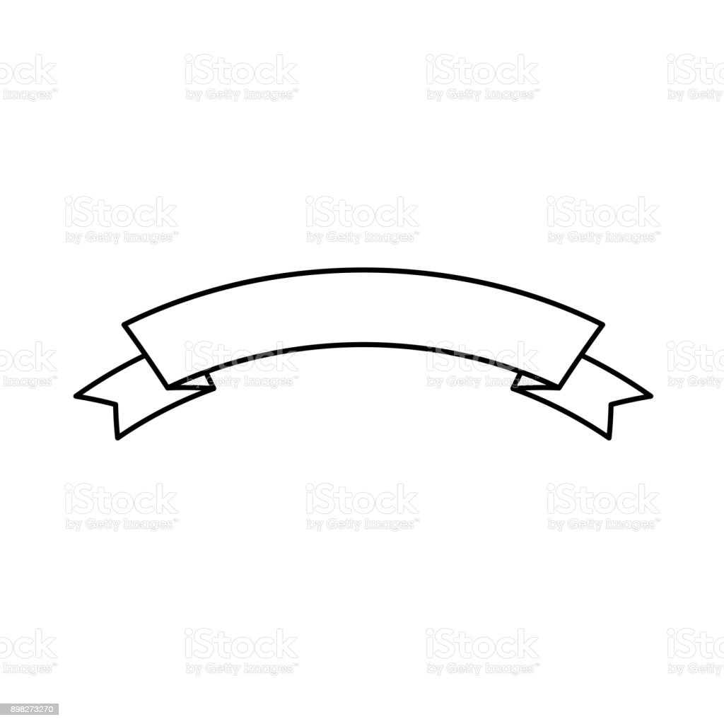 ribbon vector illustratio stock vector art more images of adhesive rh istockphoto com ribbon vector free ribbon vector art free