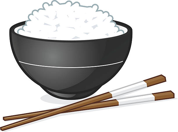 Rice bowl  – Vektorgrafik
