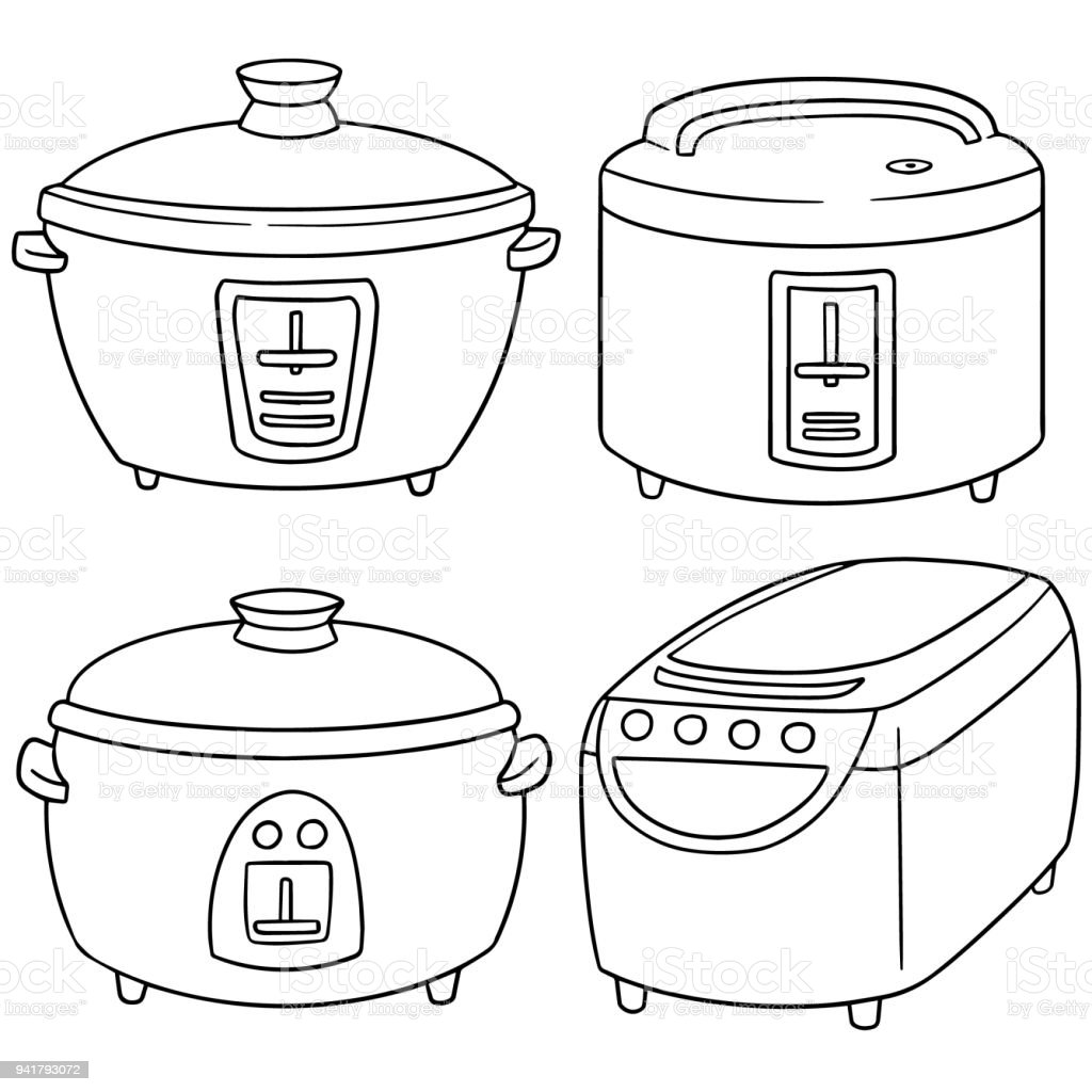 rice cooker stock vector art more images of appliance 941793072 Parts of a Window rice cooker royalty free rice cooker stock vector art more images of appliance