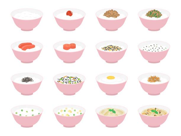 米 - 和食点のイラスト素材/クリップアート素材/マンガ素材/アイコン素材