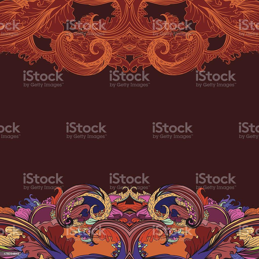 Rich autumn royalty-free stock vector art