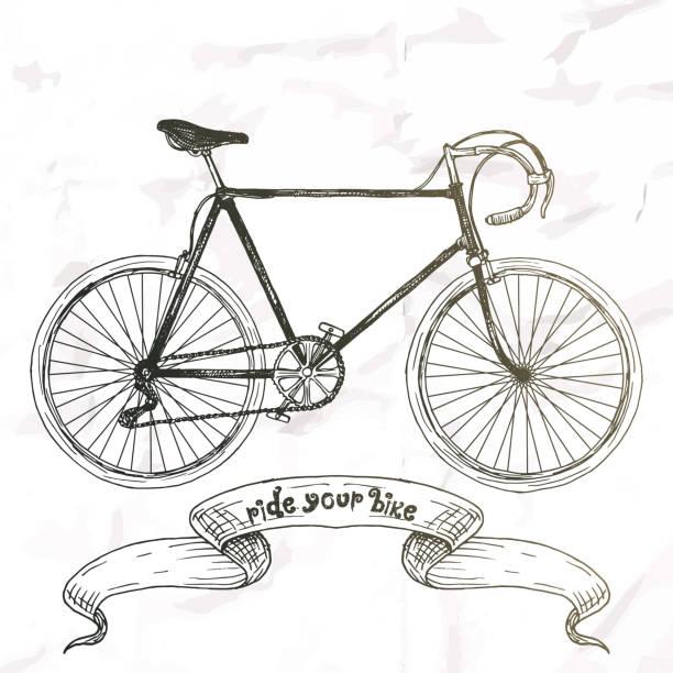 fahrrad bild. - fahrzeug fahren stock-grafiken, -clipart, -cartoons und -symbole