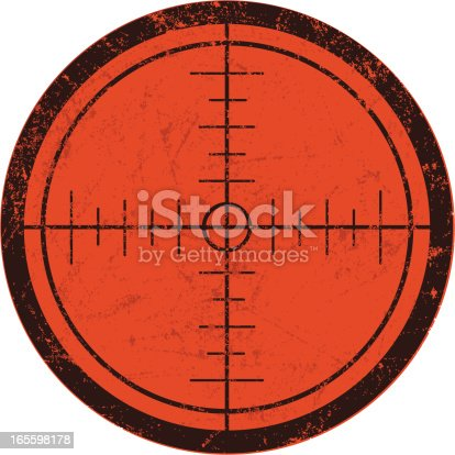istock Rifle Scope Crosshairs 165598178