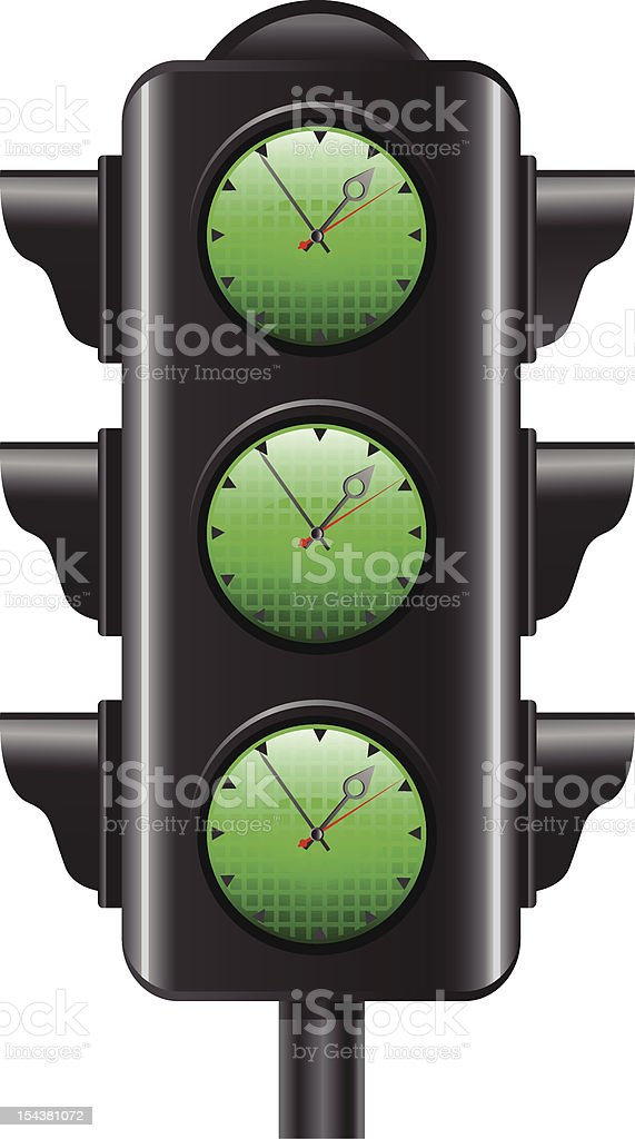 Right Time Concept royalty-free stock vector art