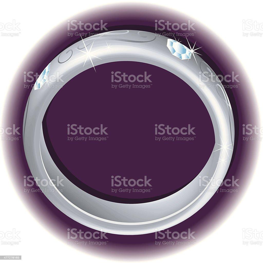 Ring C royalty-free stock vector art