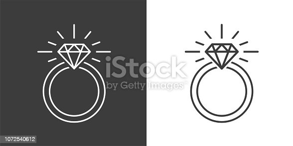 istock Ring Diamond Engagement Ring 1072540612