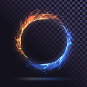 istock Ring of fire 1220354496
