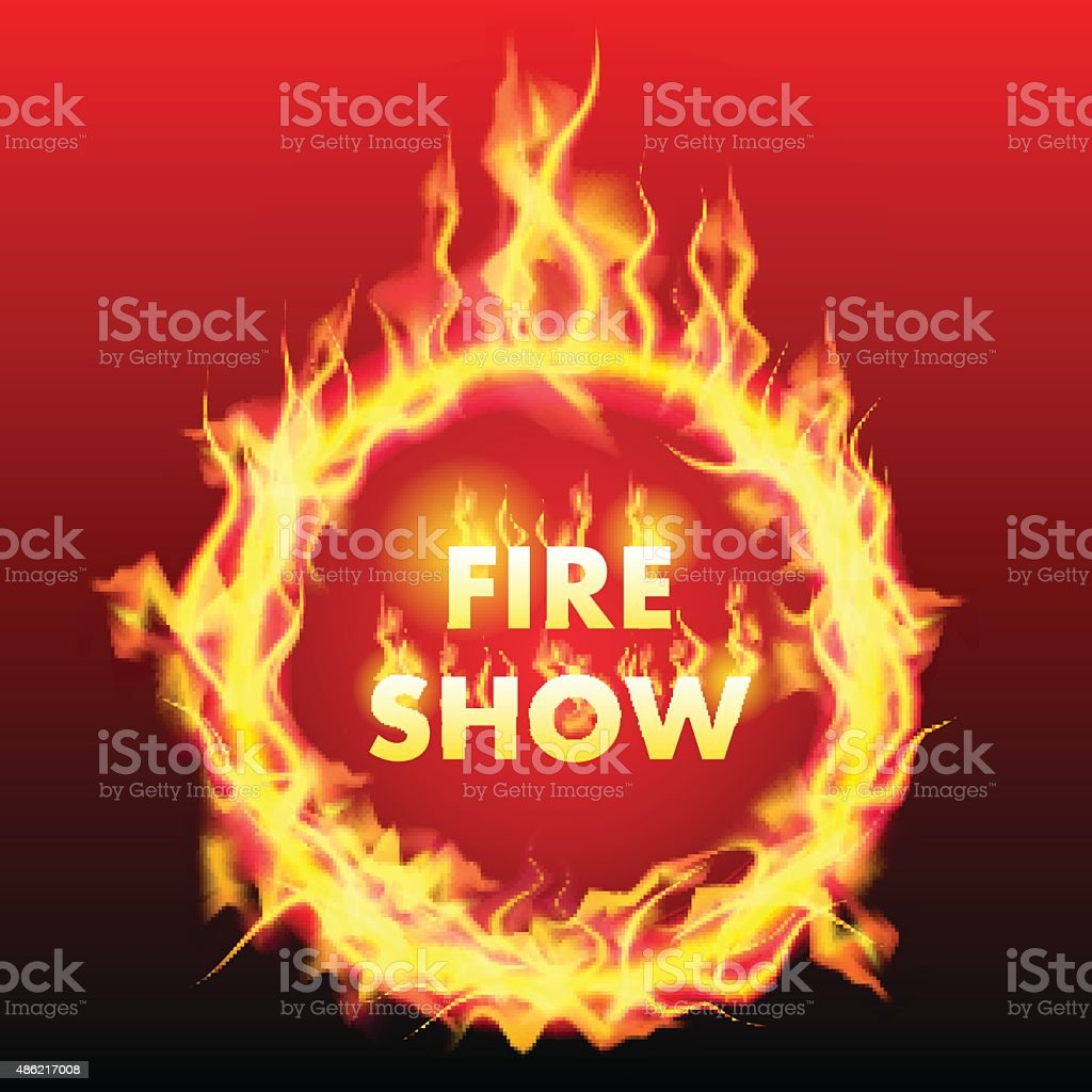 Ring Of Fire Royalty Free Stock Vector Art