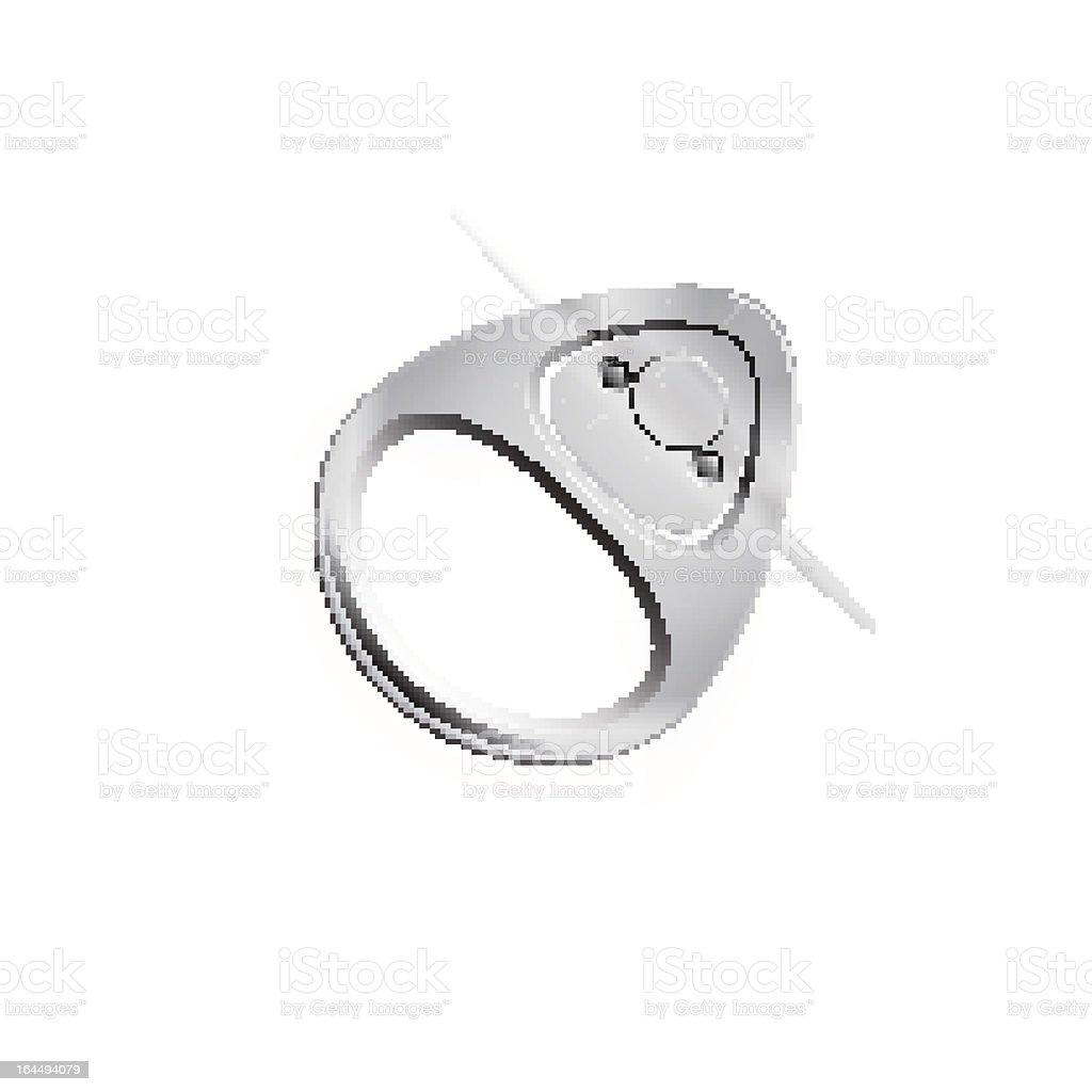 Ring Pull vector art illustration