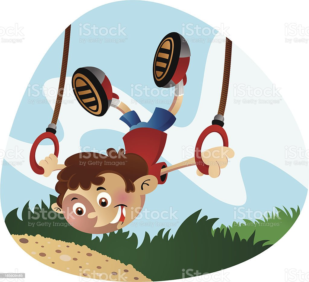 Ring Swing royalty-free ring swing stock vector art & more images of balance