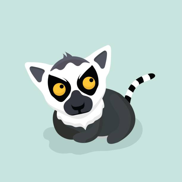 royalty free ring tailed lemur clip vector images