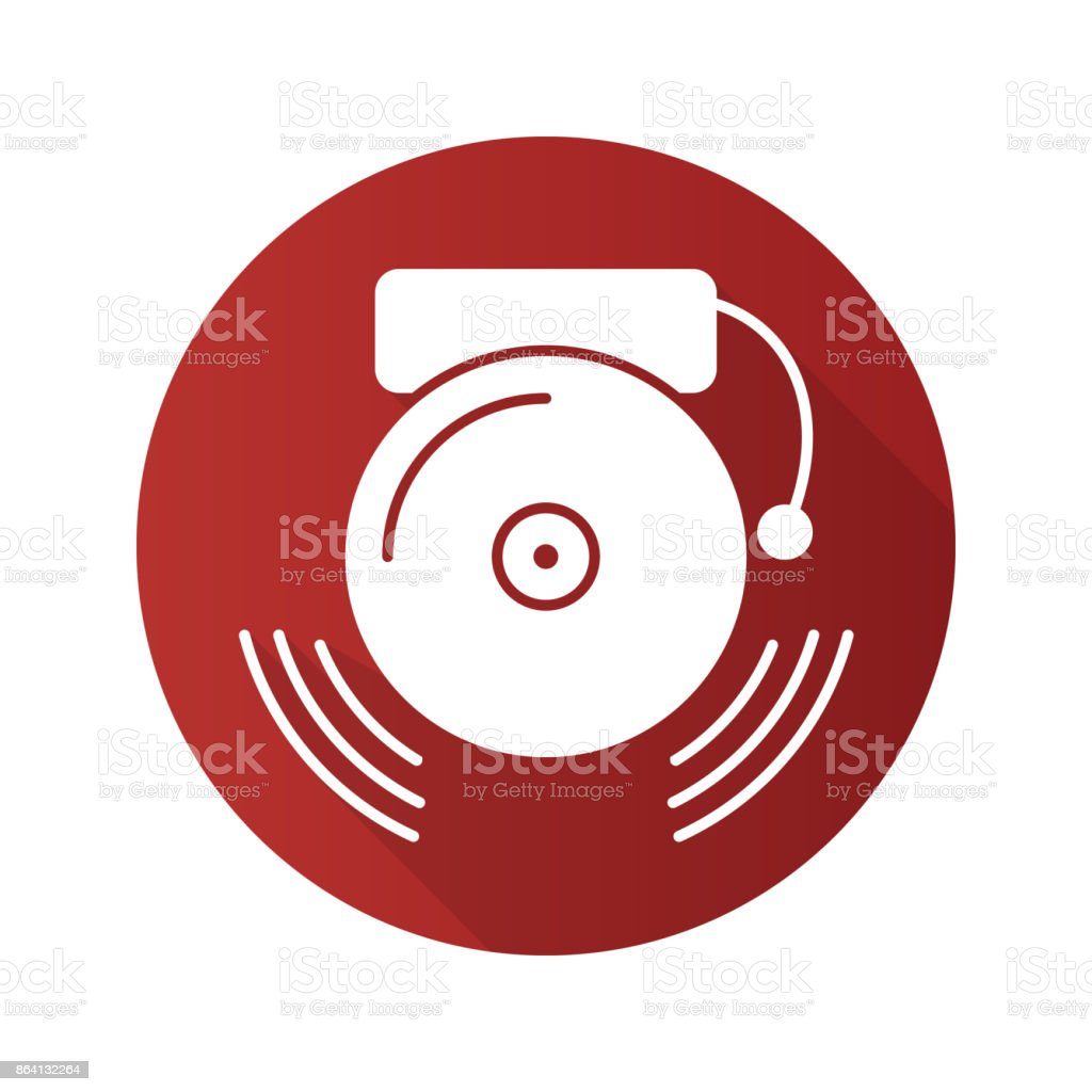 Ringing school bell icon royalty-free ringing school bell icon stock vector art & more images of alarm