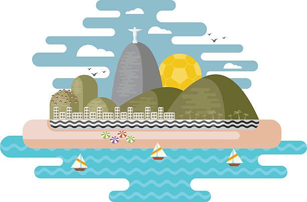 ilustrações de stock, clip art, desenhos animados e ícones de rio de janeiro, brasil. - rio de janeiro