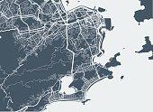 istock Rio De Janeiro city map 513431914