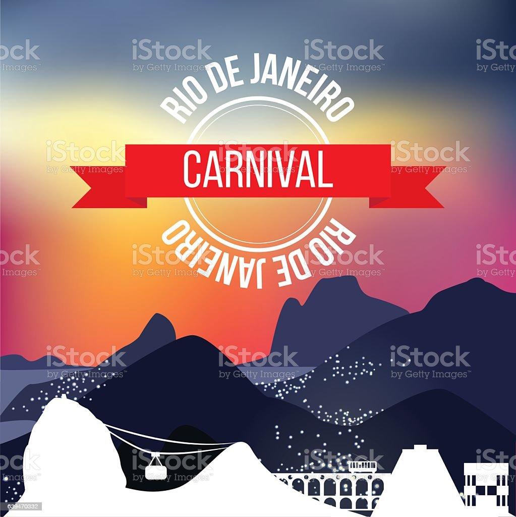 Rio de Janeiro silhouette