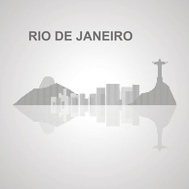 ilustrações de stock, clip art, desenhos animados e ícones de horizonte do rio de janeiro, para o seu design - rio de janeiro