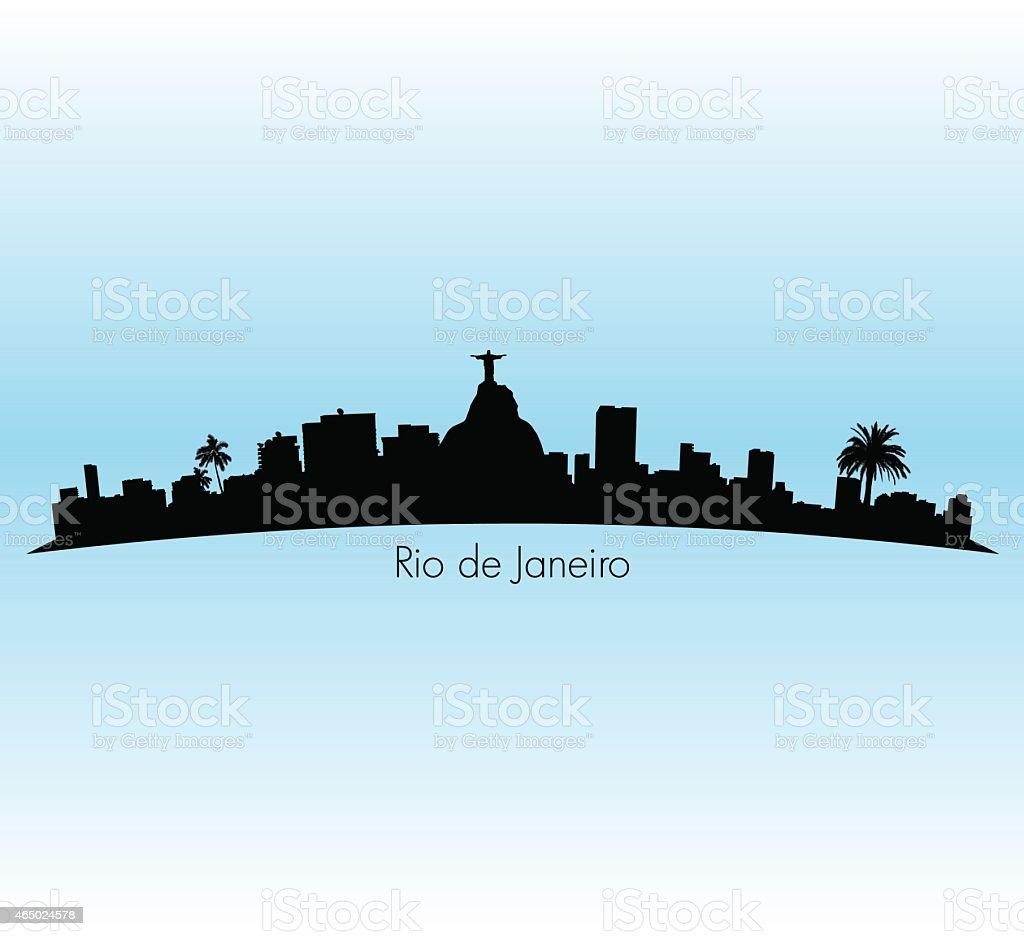 Rio De Janeiro vector art illustration