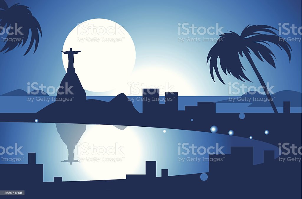 Rio De Janeiro royalty-free stock vector art