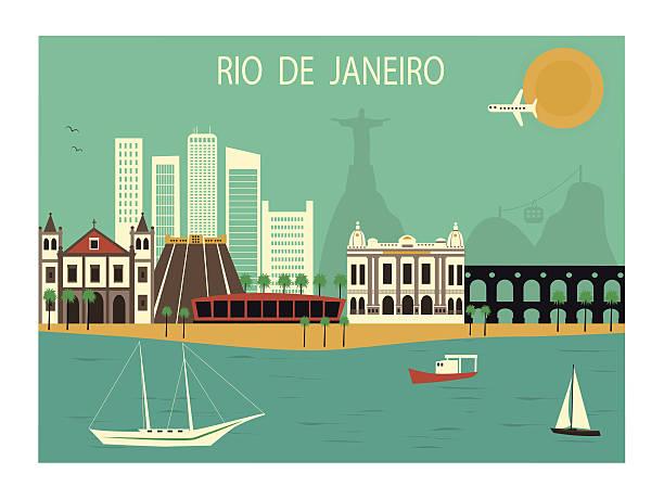 ilustrações de stock, clip art, desenhos animados e ícones de rio de janeiro. - rio de janeiro