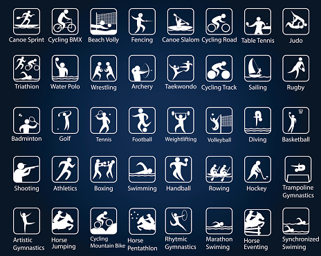 Rio summer games, sport disciplines