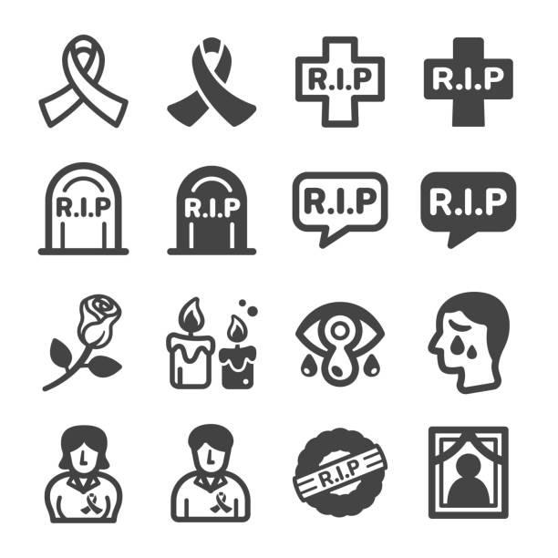 bildbanksillustrationer, clip art samt tecknat material och ikoner med rip-ikonen - ljus på grav