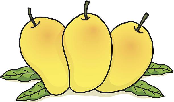 Mango Cartoon Clip Art, Vector Images & Illustrations - iStock