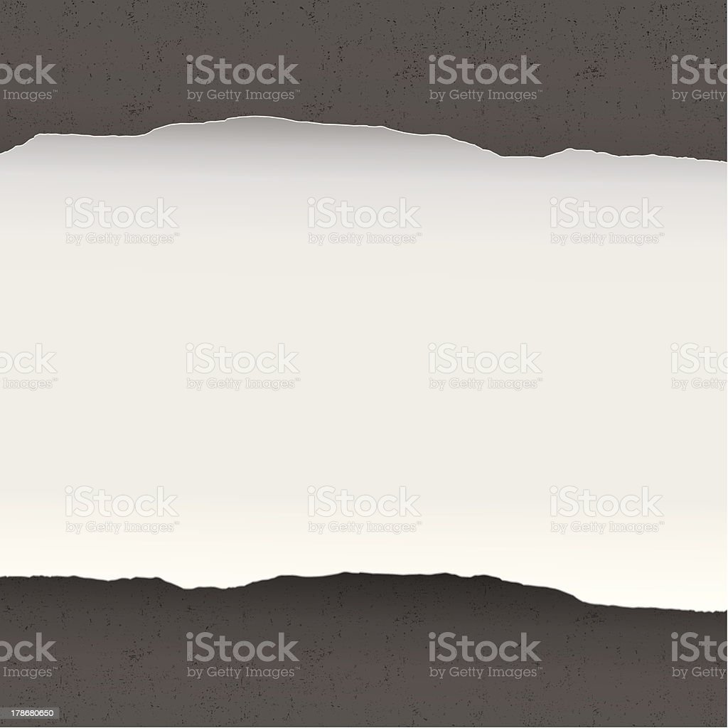 Ripped paper background royalty-free stock vector art