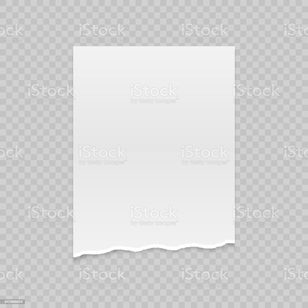 Ripped Paper Stock Illustration - Download Image Now - iStock
