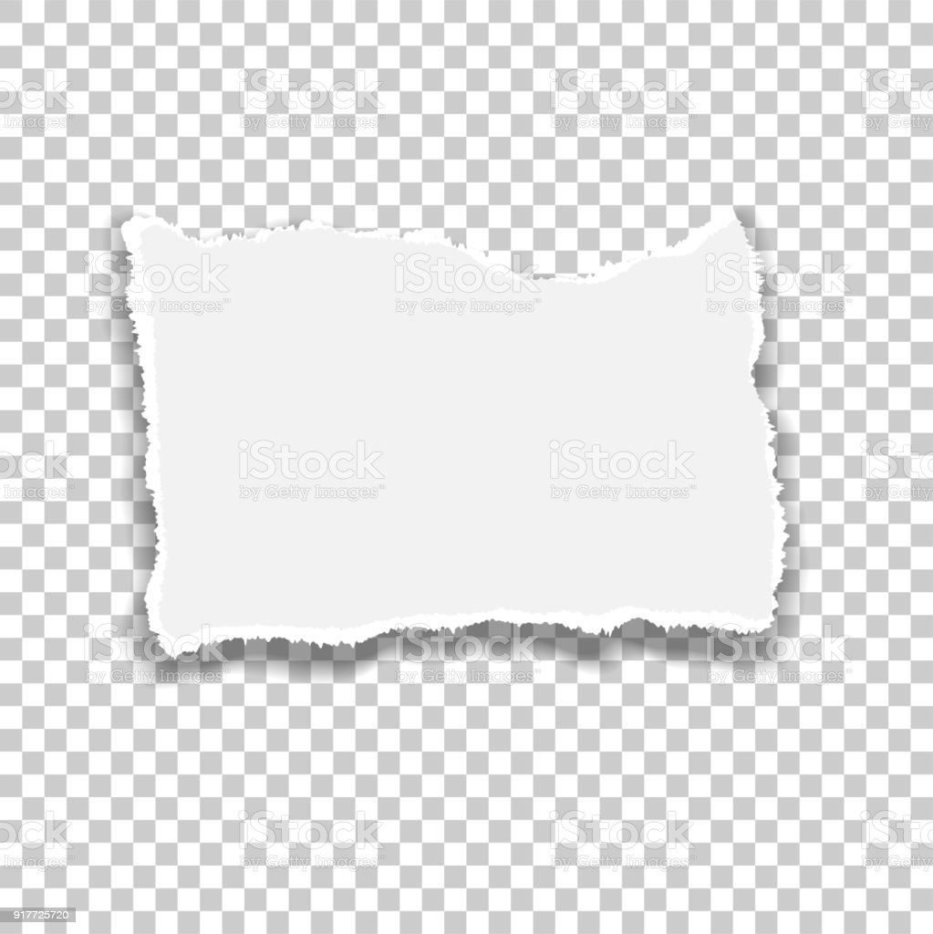 Ripped Paper Vector Of Ripped Paper The Paper Was Ripped
