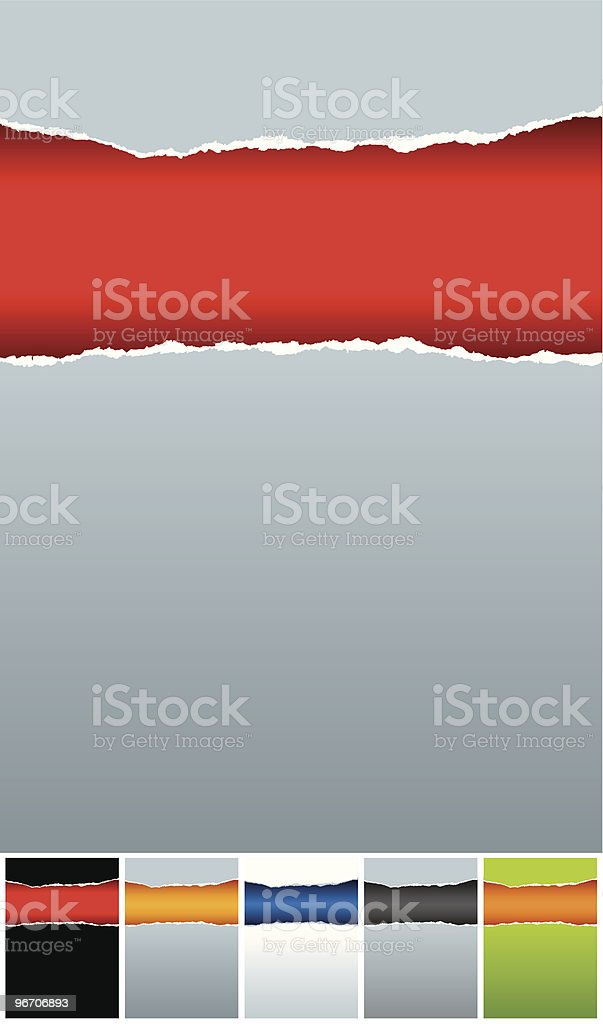 rippedpaper background royalty-free rippedpaper background stock vector art & more images of abstract