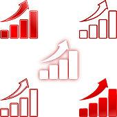 Rise up bar chart