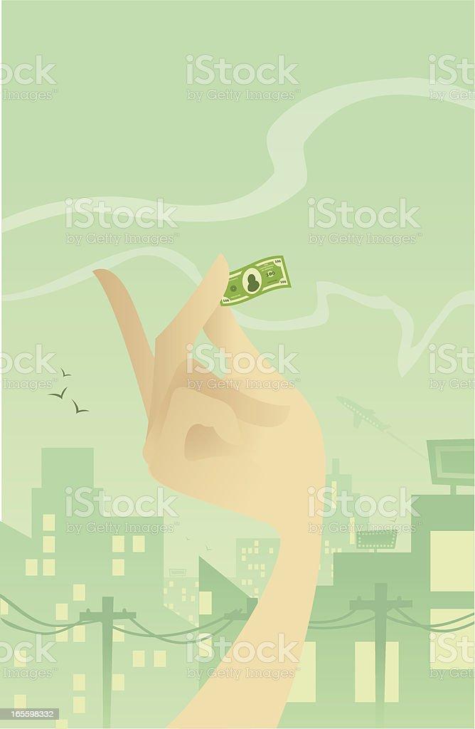 Aumento de los costes, la reducción de dinero ilustración de aumento de los costes la reducción de dinero y más banco de imágenes de arquitectura exterior libre de derechos