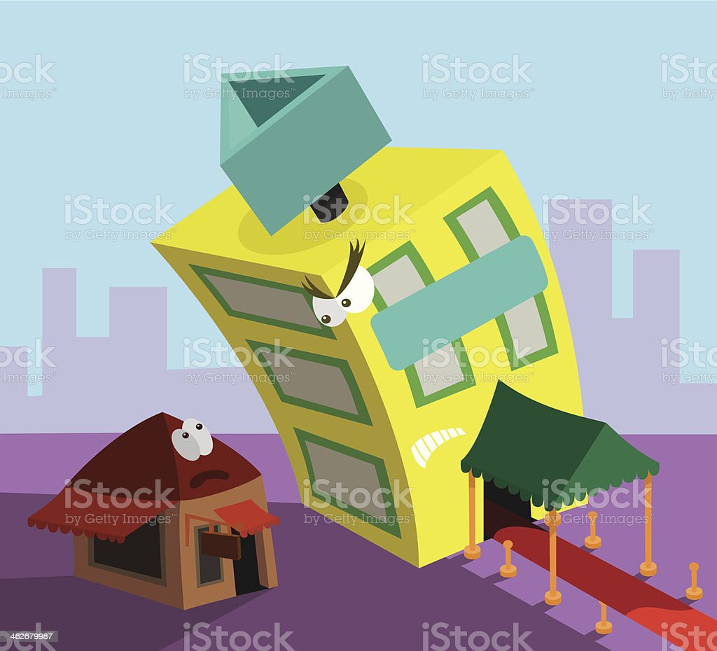 Rivalry royalty-free rivalry stock vector art & more images of building exterior
