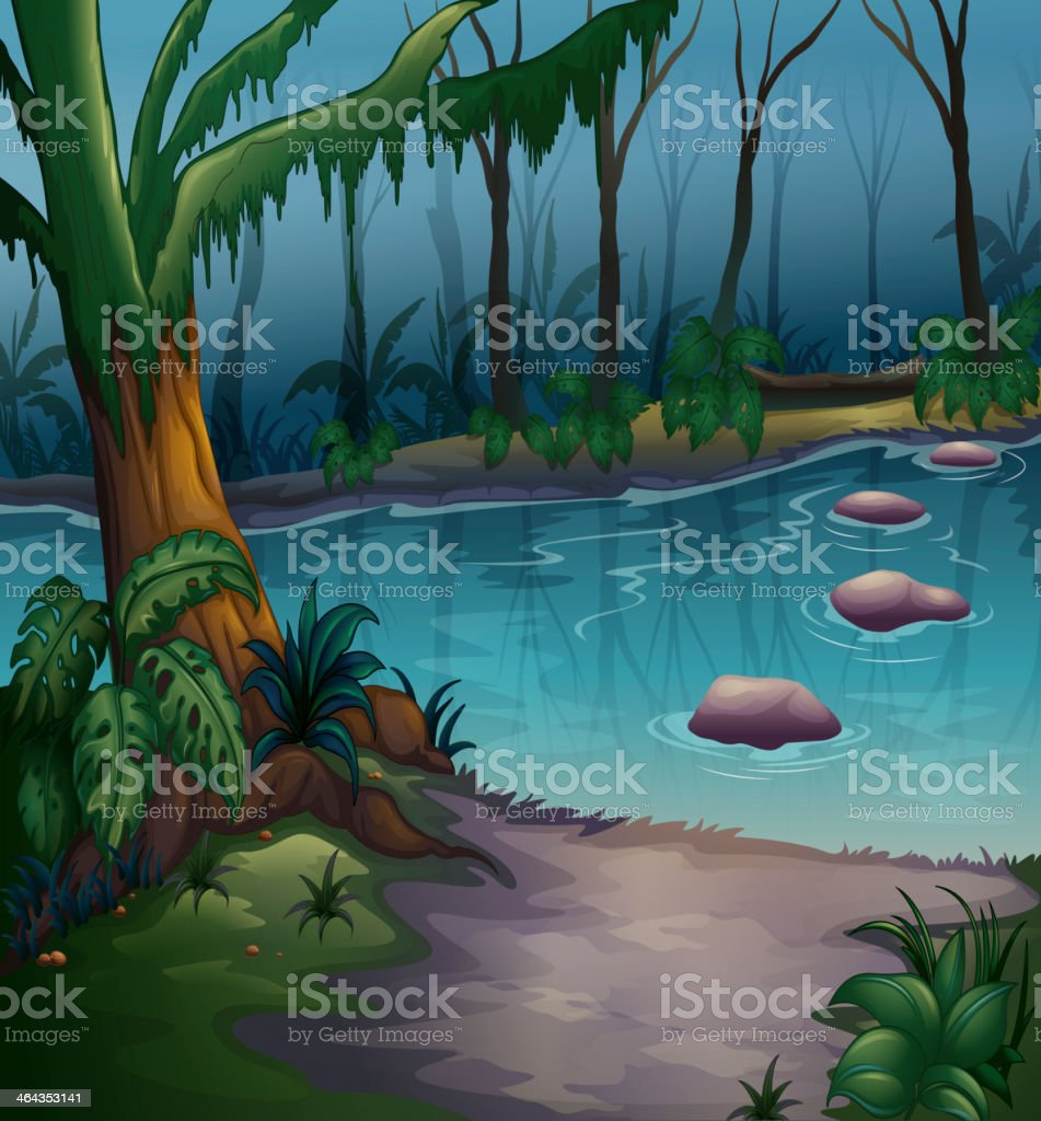 River royalty-free river stock vector art & more images of animal wildlife